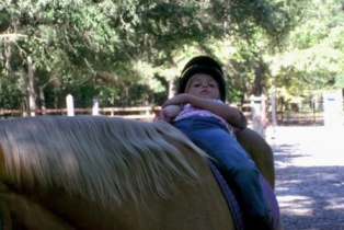 Chillin on the saddle.